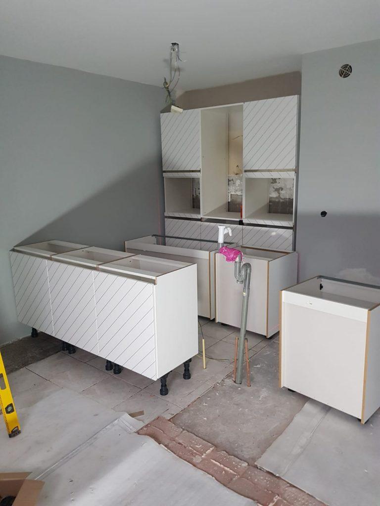 keuken laten zetten
